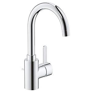 Grohe Eurosmart Cosmopolitan – Grifo de lavabo de 1/2″ Tamaño L, color cromo (Ref.32830001)