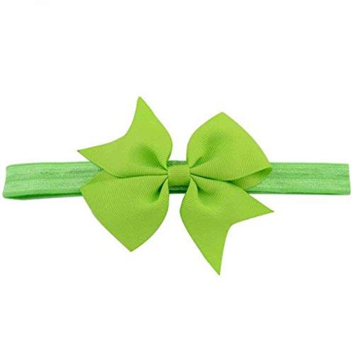 Laileya Neugeborenes Baby-Bogen-Haar-Band-Kleinkind-Kinder-Stirnband-Band-Kopfbedeckung Dusche Geburtstags-Geschenke - Vorhang Kleinkind-mädchen-dusche