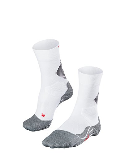 FALKE Unisex Sportsocken Funktionssocken 4 GRIP Stabilizing - weiss, Gr. 39-41, 1 Paar, mit Kompression & Noppen, feuchtigkeitsregulierend, stabilisierend (Frauen-volleyball-schuhe Nike)