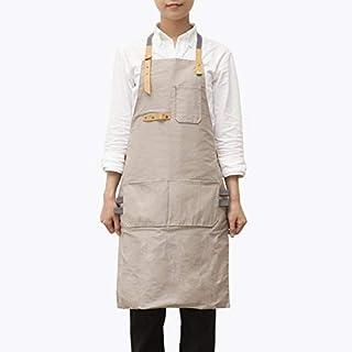 apronzhu Schürze Korean Fashion Barista Wasserdicht Antifouling Männer Und Frauen Kittel Geröstet Coffee Shop Wohnzimmer Overalls 105 * 53 Cm