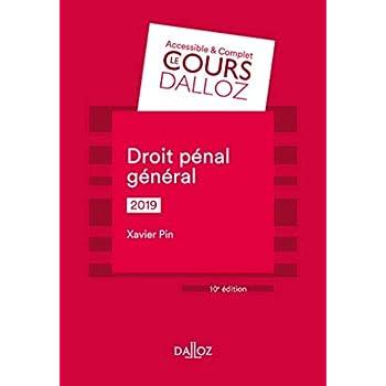 Droit pénal général 2019 - 10e éd.