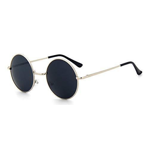 AAMOUSE Sonnenbrillen Moderunde Sonnenbrille Frauen Klassische Retro Metall Sonnenbrille für männer Brille Shades Vintage Brillen Frauen Sonne