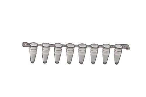 PCR-Streifen mit 8 Röhrchen 0, 1 mL, Beutel, 15x120 Stk.