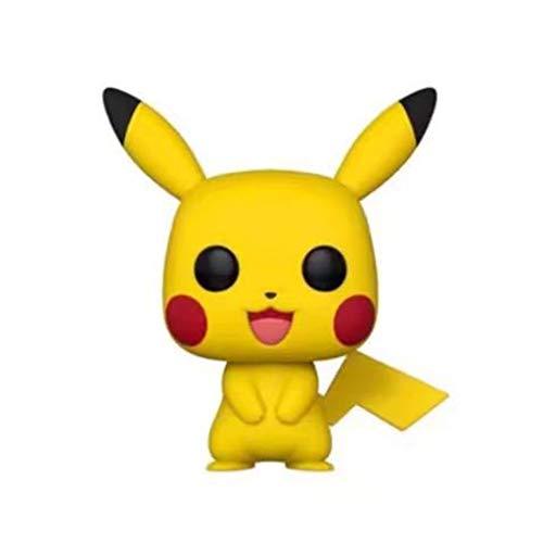 Yingjianjun Pokémon Pikachu Modelo Pop Figura de Vinilo Modelo Figura de acción de Aproximadamente 4 Pulgadas