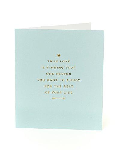 Fun Happy Anniversary Karte-True Love