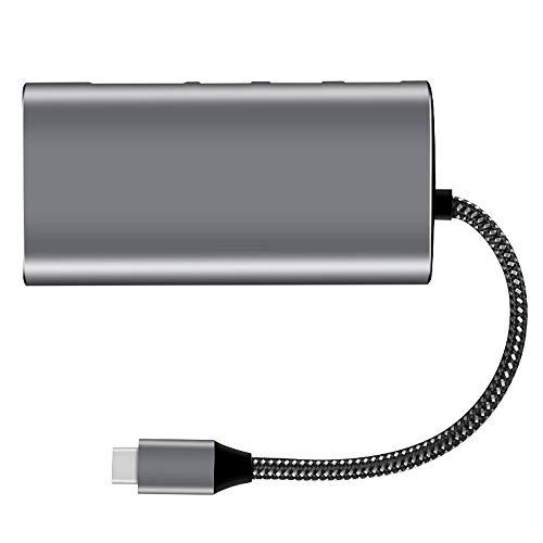 Unbekannt Typ C Hub 3.1 Multifunktions-Dockingstation Typ C Zu HDMI4K HD 3.0 Hub Gigabit-Netzwerkkarte