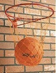 Garden Games - Canasta y red de baloncesto para montar en pared (para exteriores)
