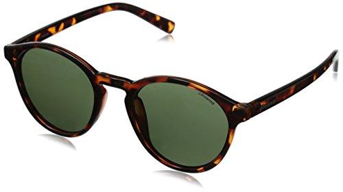 Polaroid Unisex-Erwachsene Sonnenbrille Pld 6003/N/S LA V08, Braun (Havana/Brown Sf Pz), 54
