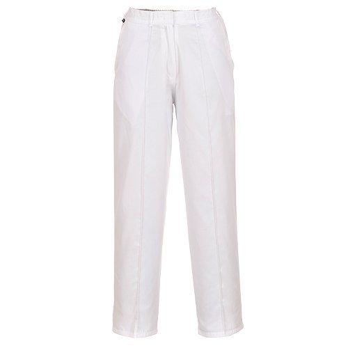 Reg Sportswear (PORLW97WHRS - Ladies Elasticated Trouse White - Small R - Small EU / Small UK)