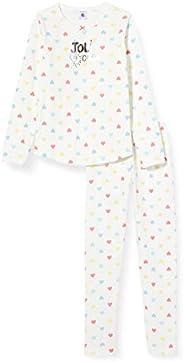 Petit Bateau Pantalones de Pijama para Niñas