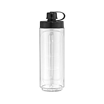 WMF-KCHENminis-Smoothie-to-go-Mini-Standmixer-mit-zwei-Mix-Trinkbehltern-06-Liter-300-Watt-cromargan-mattsilber