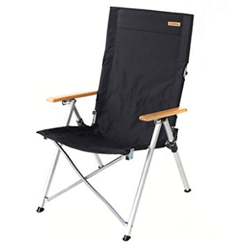 Fauteuils inclinables Pliable Inclinable Inclinable Portatif Extérieur Chaise De Camping Sauvage Chaise De Camping Auto-conduite 140 Kg Chaise Inclinable Confortable