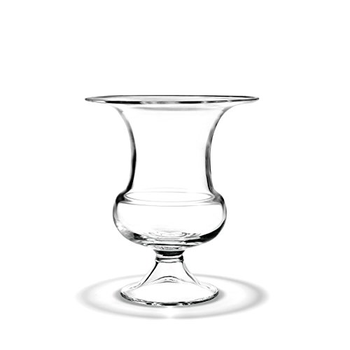 Holmegaard Old English Vase, Flower Bowl, Flower Vase, Glass Bowl, Glass Vase, Hand-blown Glass, Clear, H 24 Cm, Rdhg04343803