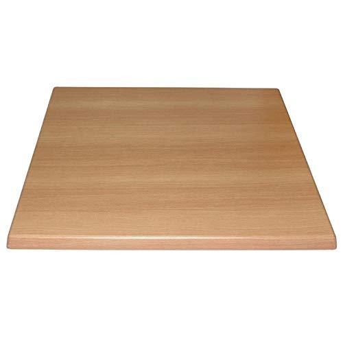 Bolero gg634cuadrado tablero mesa, madera