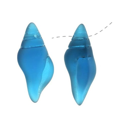 cultured-sea-glass-conch-shell-pendants-26x13mm-teal-blue-2-pieces