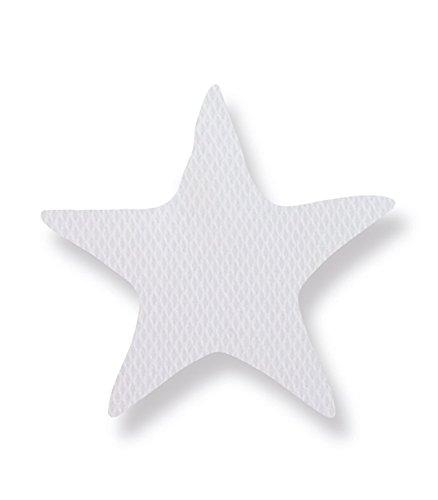 Pirulos 79113120 - Cojín formas, diseño luna, color blanco y gris