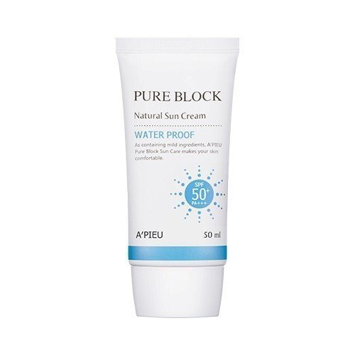 A'pieu Pure Block Sun Cream (Waterproof Sun Cream) by A'PIEU -