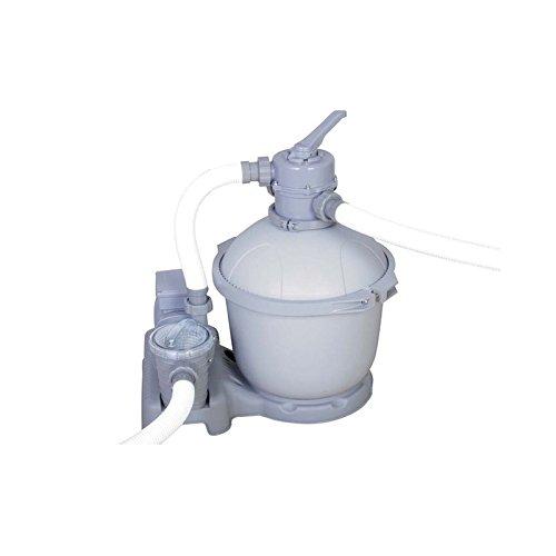 Bestway Poolzubehör Flowclear SandFilterpumpe, 3785 l/h, grau