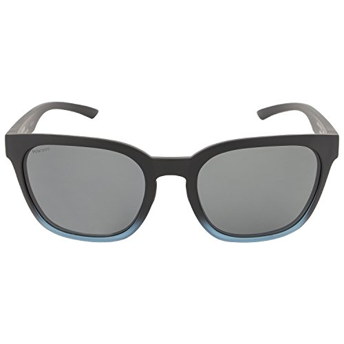 Smith Founder Slim Sonnenbrille Damen Opal/Blue Flash, Damen, Matte Black Corsair/Grey Polar, 53/19/145