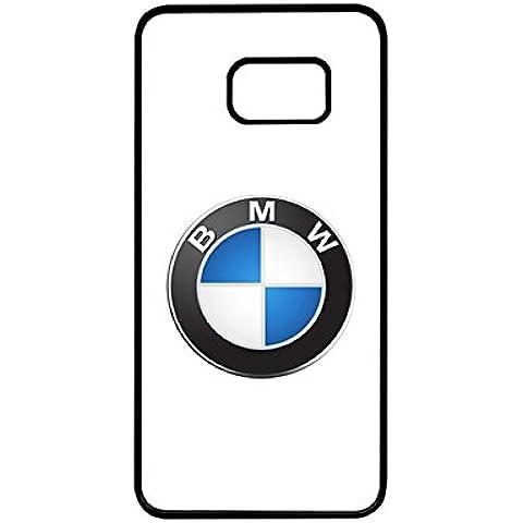 Cool funda para Galaxy S6EDGE PLUS, BMW Logo logotipo de marca Simple personalizado creativo único de plástico para Samsung Galaxy S6EDGE PLUS [JSUT para S6Edge Plus]