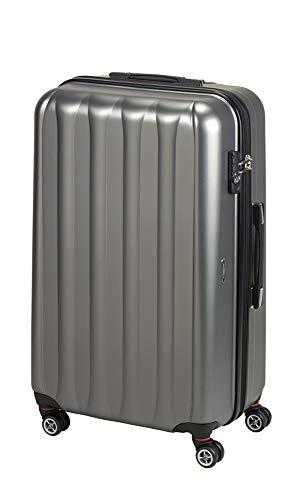 Princess Traveller Hollywood Polycarbonate TSA Lock Traveller Laptop Rollkoffer, 94 Liter, Anthracite