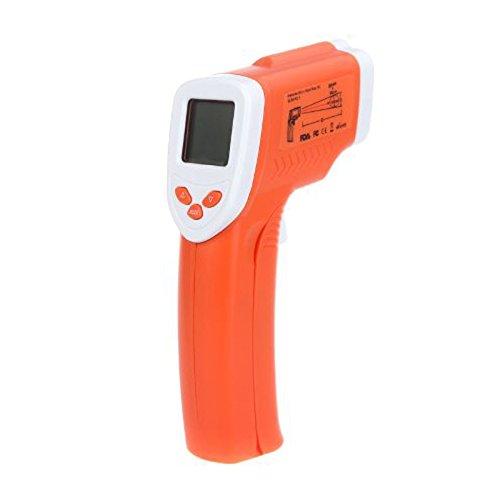 Infrarot Thermometer - TOOGOO(R)Non-Kontakt Koerper Stirn IR-Infrarot Thermometer LCD Digitale Temperaturpistole mit Hintergrundbeleuchtung DT 802