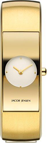 Jacob Jensen Damen-Armbanduhr 472