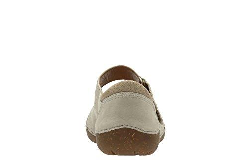 Clarks Damen Autumn Stone Geschlossene Sandalen mit Keilabsatz Beige