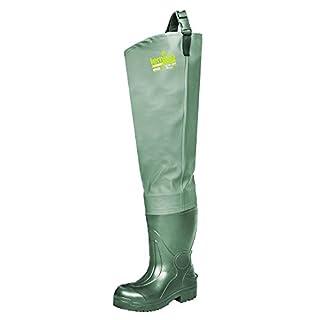 LEMIGO leichte EVA Watstiefel Anglerstiefel 808 (46) Grün