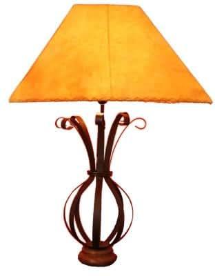 * Design Ziegenleder Stehlampe Lederlampe Leder Leuchte
