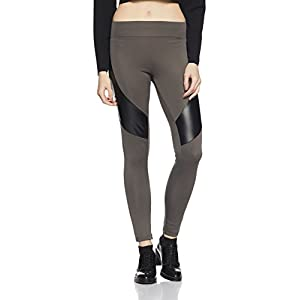 Amazon Brand – Symbol Women's PU Panel Jeggings