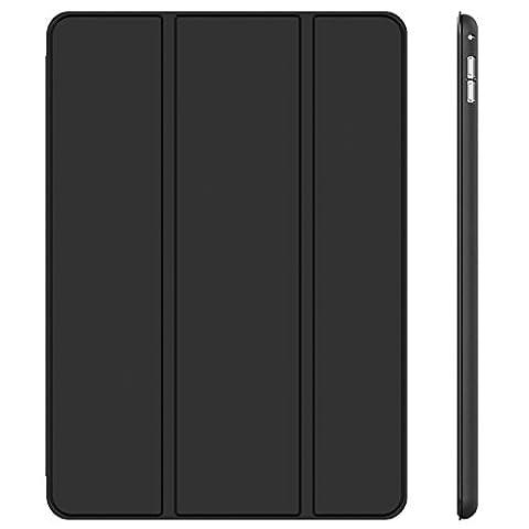 iPad Pro 12.9 Etui, JETech Smart Case Coque Housse pour Apple iPad Pro 12.9 Inch support léger avec Auto Réveil / Veille (Noir)