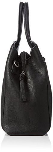 Tamaris - JIMMY Boston Bag, Borsa con Maniglia Donna Nero (Schwarz (black comb 098))