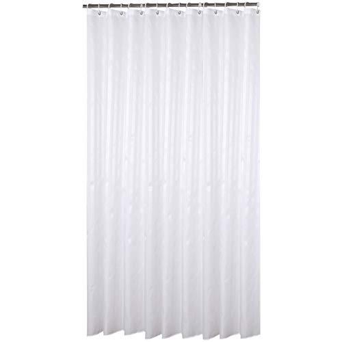 Qsy curtain Wasserdichter Duschvorhang Hotel Wasserdichte Trennwand Vorhangumkleideraum Polyestergewebe Haushaltsbad Vorhang, 180x200, Yin und Yang