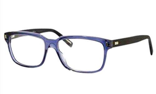 Dior Homme Blacktie 159 Guilloche Blue / Tortoise Kunststoffgestell Brillen, 53mm