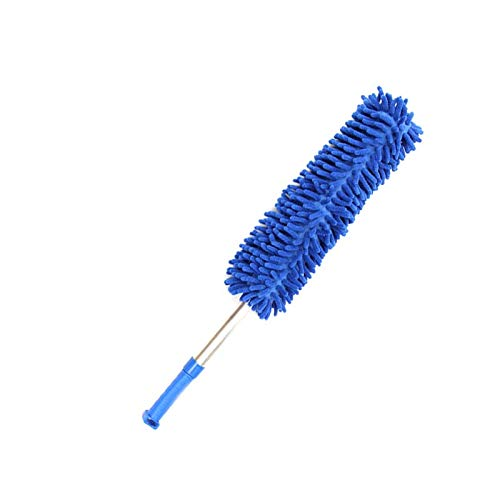 Duster - Creative Stretch Extend Microfiber Dust Shan Adjustable Feather Duster Household Dusting Brush Cars - Feather Roller Women Logo Shoot & Feather Polyurethane Suit Clean Car Prop Back Ro Womens Duster