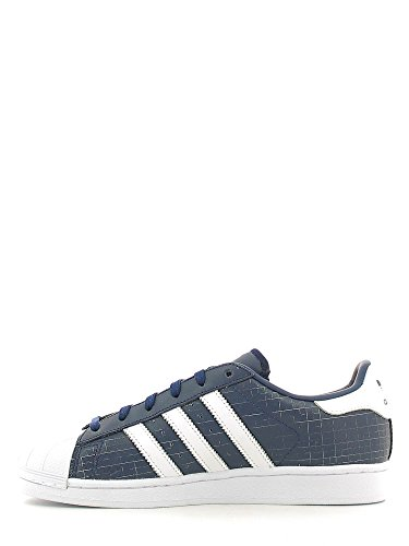 Adidas Superstar Adicolour Femme Baskets Mode Gris Multicolore