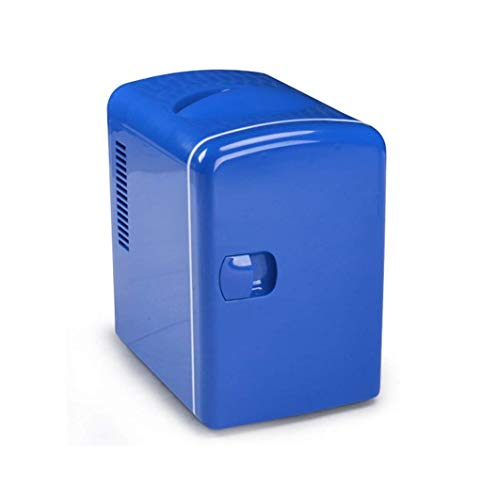 Goglor Mini Fridge Office 4 Liters Portable Mini Refrigerator Cooler and Warmer with AC//DC Power Cords Super Quiet in-Vehicle Freezer for Car Bedroom
