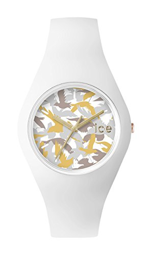 Ice Watch Ice Fly White Women's Quartz Analogue Watch with White Dial and White Silicone Bracelet  ICE.FY.WE.S.S.15