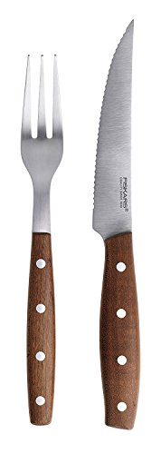 Fiskars 1020239 Set Messer und Gabel, für - Steaks Messer