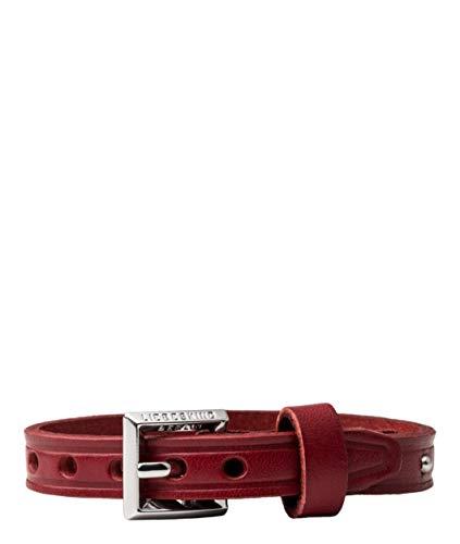 Liebeskind Berlin Essential Damen Bracelets with Studs, 1x23x1 cm (B x H x T), Rot (Italian Red)
