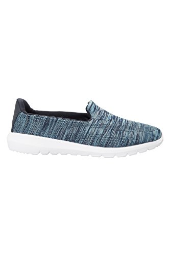 Mountain Warehouse Scarlett Slip-On Space Dye Womens Shoes Blu