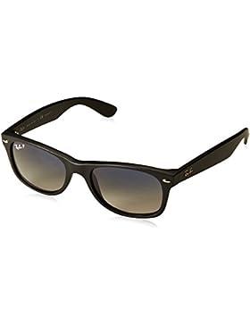 Ray-Ban New Wayfarer  - Gafas de sol para hombre, Negro, 55mm