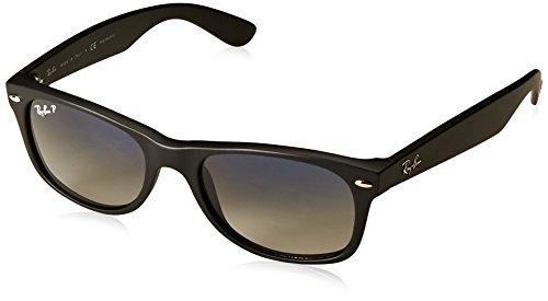 Ray-Ban RB2132 New Wayfarer Sonnenbrille 52 mm, Schwarz (601S/78), 52 mm