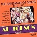 Al Jolson, Vol. 2: The Salesman of Song 1911-1923