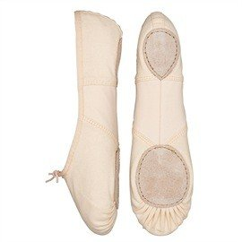 So Danca BAE13 donna rosa tela ballerine split suola
