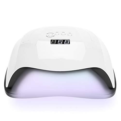 4 Typen 80 Watt UV/LED Nagel Trockner Lampe heben Handheld Timing Sensor für Härtung Gelpoliermittel Nagelkunstwerkzeuge(EU) -