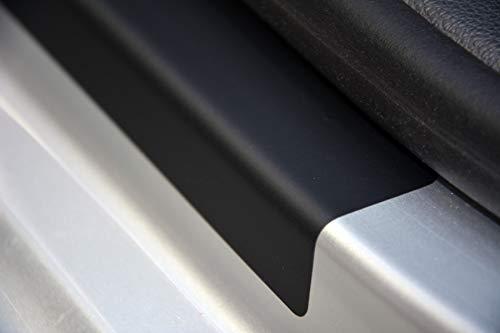 WGS Einstiegsleisten Lackschutzfolie Einstiegschutz Schutzfolie SCHWARZ MATT 160µm (1325-109)