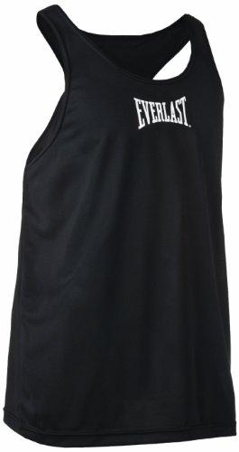 Everlast Competition - T-shirt senza maniche da uomo, nero (nero), FR : 42 (XL)