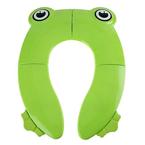 Cuscino Riutilizzabile Riutilizzabile del Sedile del Vasino Pad Sveglio del Fumetto Toilet Pad Portatile Travel Toilet Training Cover Cushion for Babies Kids Toddler(# 1)